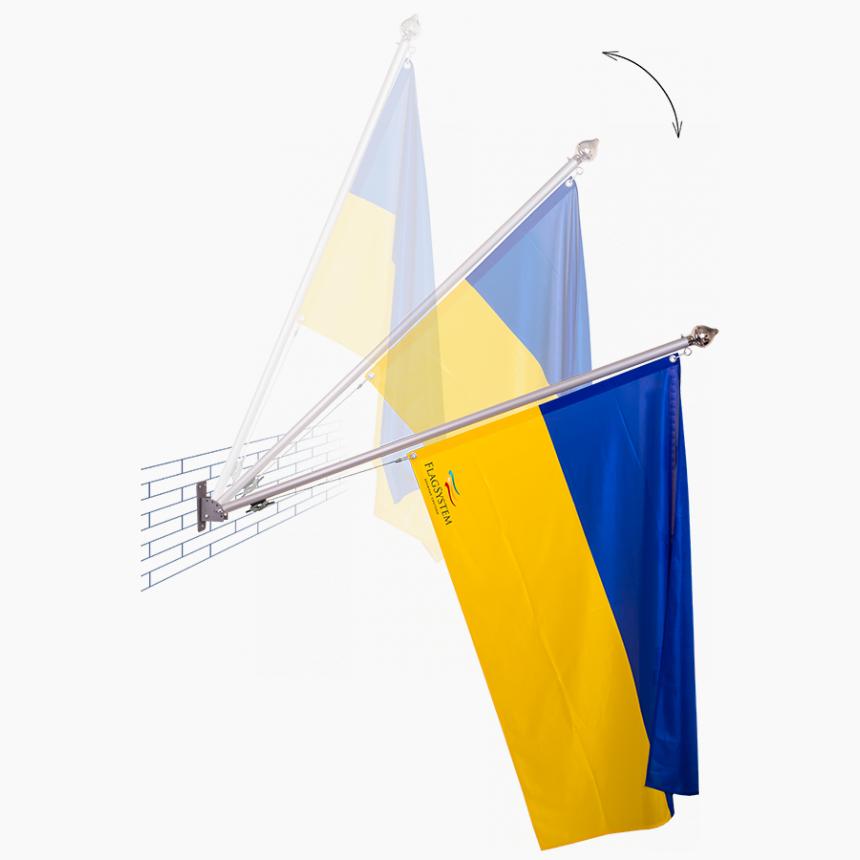 Флагшток фасадный PATRIOT UNIVERSAL