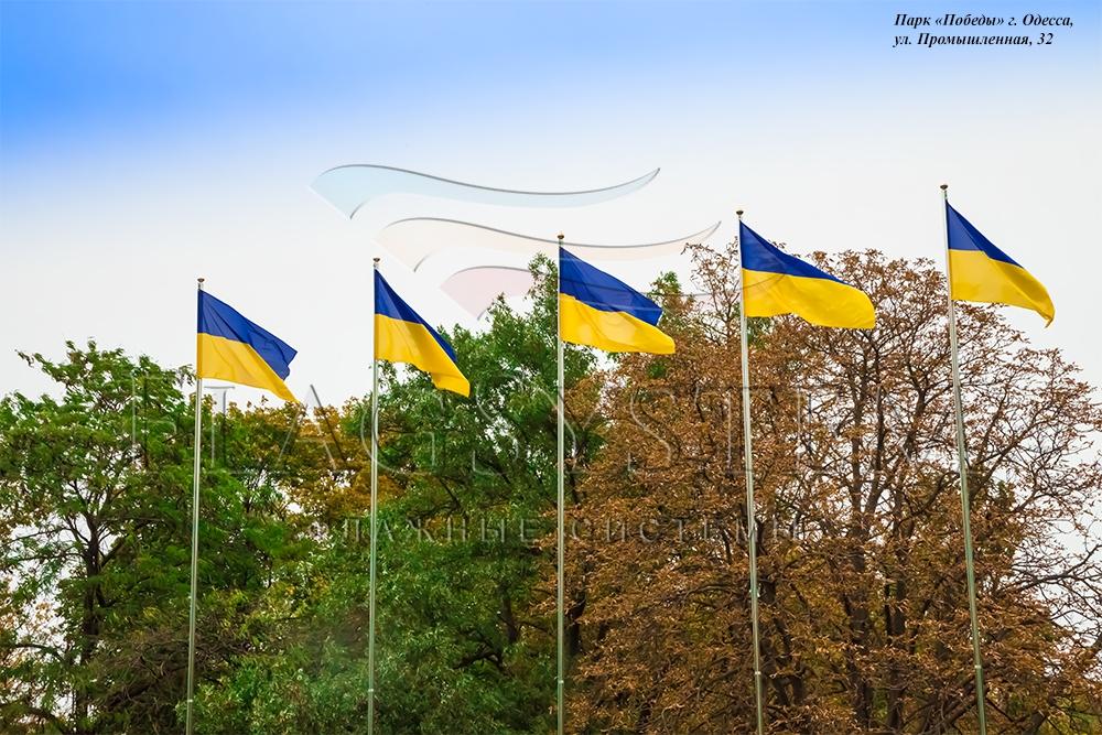 Флаг Украины 3