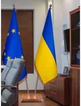 Прапори кабінетні преміум