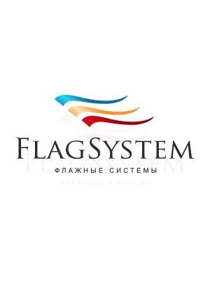 Флаги с логотипом компании