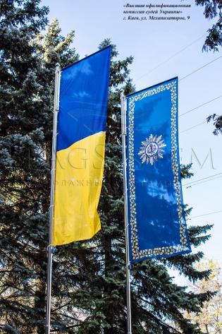 Флагшток уличный БАННЕР-ЛИФТ (нерж. сталь) 2