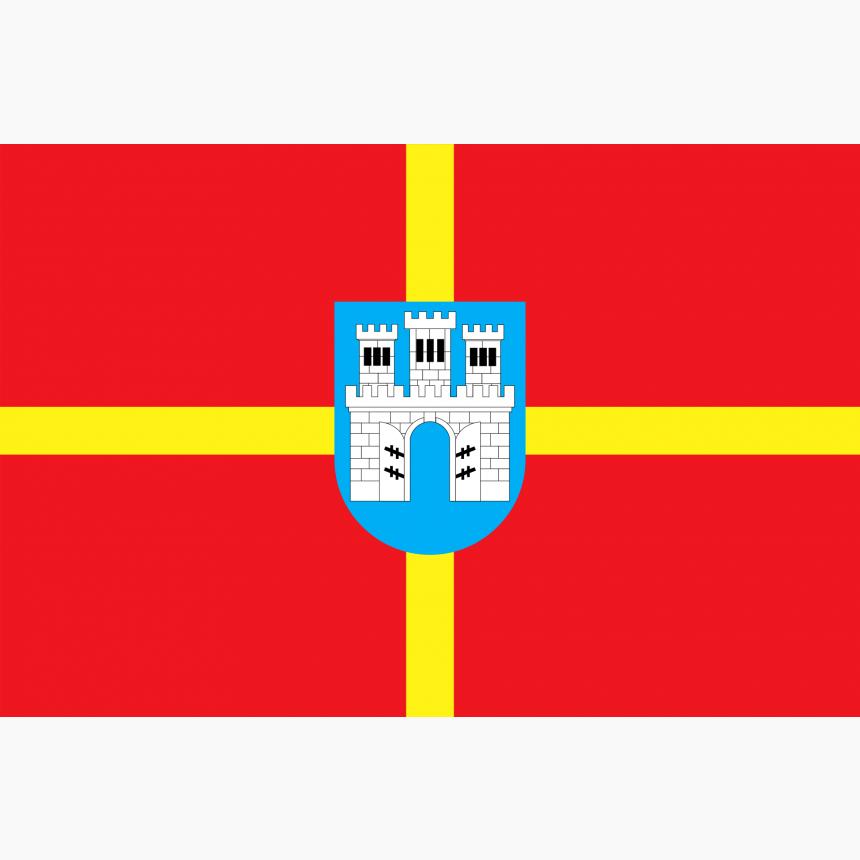 Флаг Житомирской области