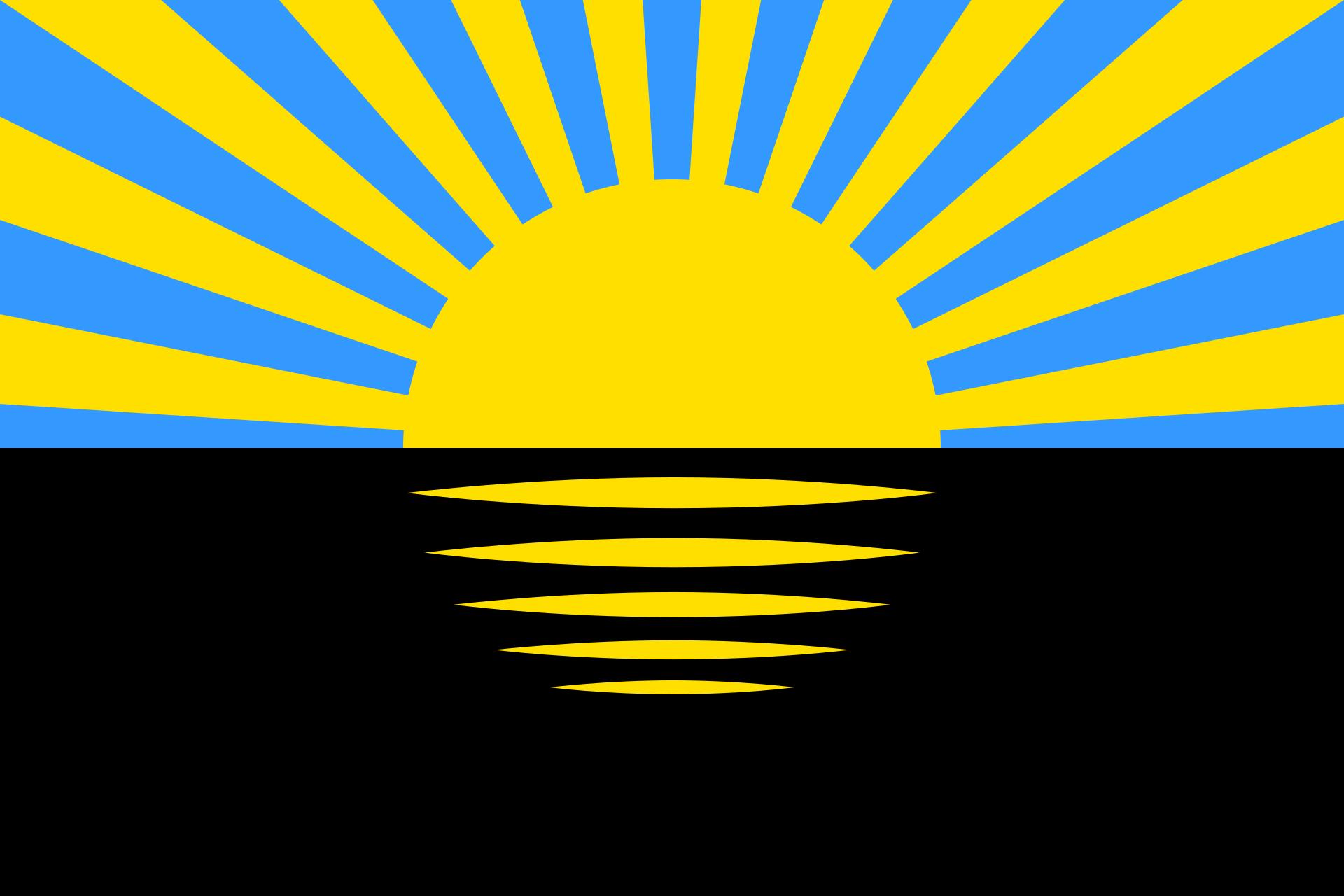 Флаг Донецкой области