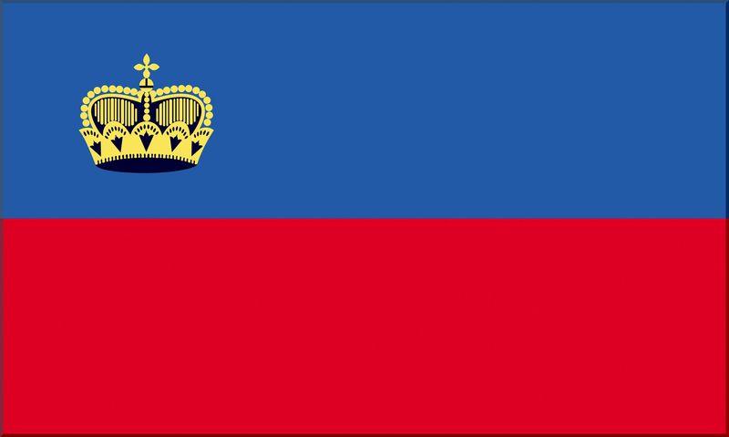 Картинки по запросу Україна-Ліхтенштейн прапори